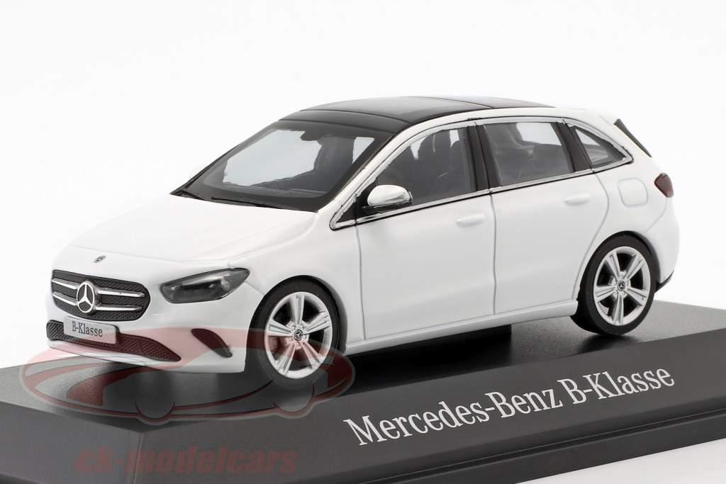 Mercedes-Benz B-classe (W247) ano de construção 2018 polar branco 1:43 Herpa