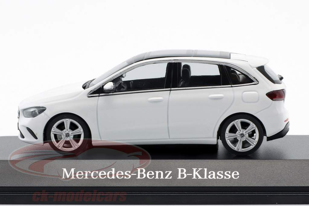 Mercedes-Benz B-Class (W247) anno di costruzione 2018 polare bianco 1:43 Herpa