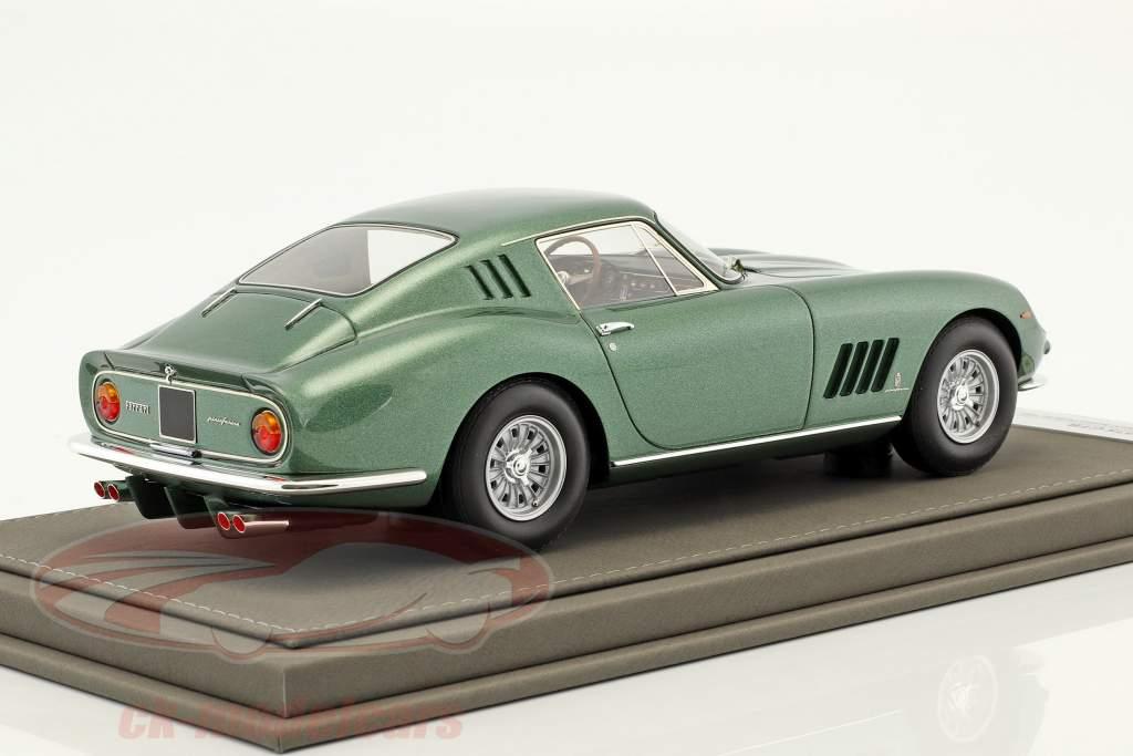 Ferrari 275 GTB S/N 06437 Personal Car Battista Pininfarina Opførselsår 1964 grøn metallisk 1:18 BBR