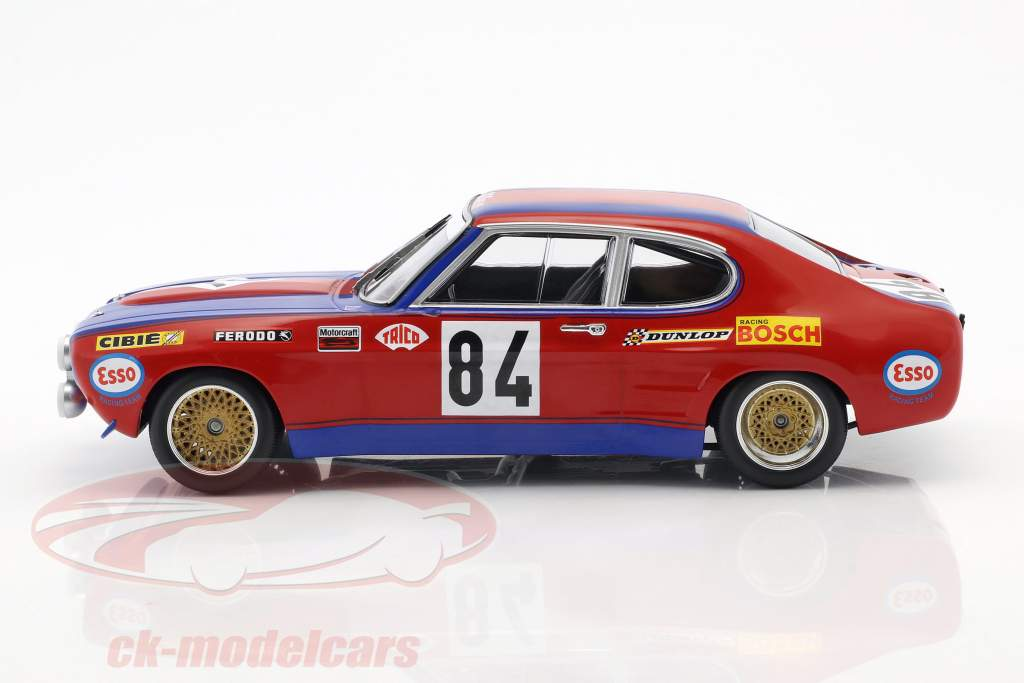 Ford Capri RS 2600 #84 24h LeMans 1972 Guerie, Rouget 1:18 Minichamps