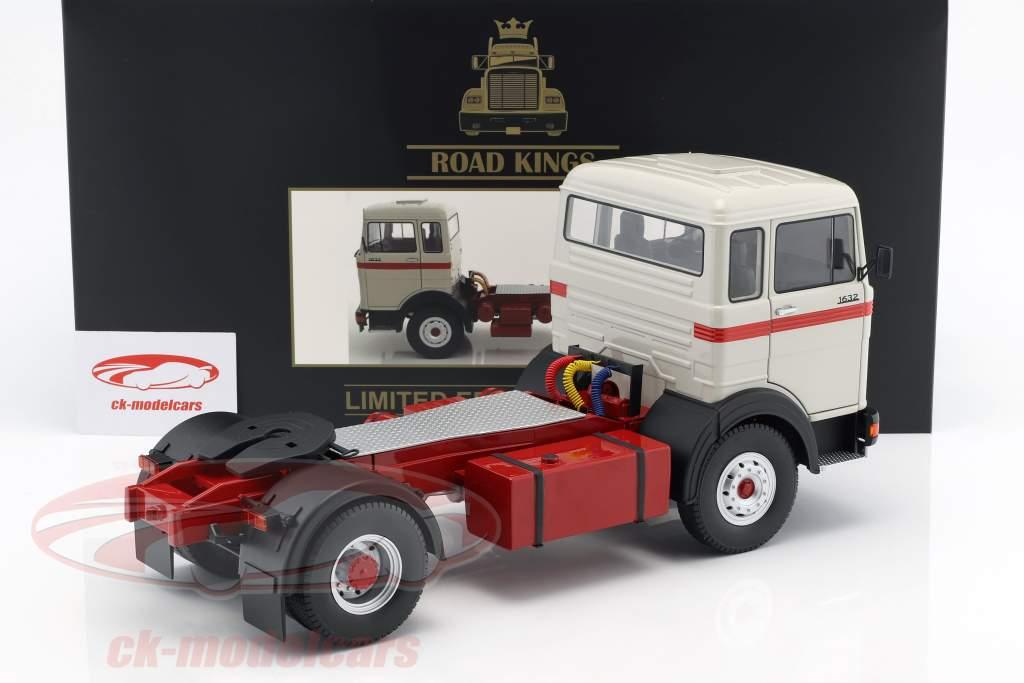 Mercedes-Benz LPS 1632 trattore anno di costruzione 1969 grigio / rosso 1:18 Road Kings