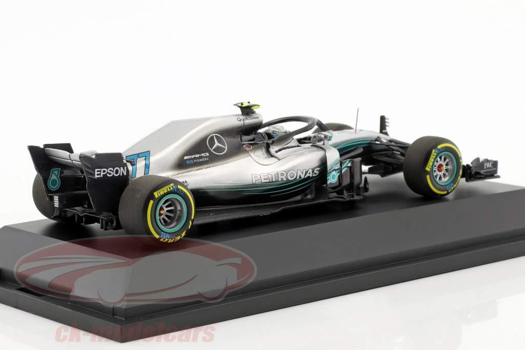 Valtteri Bottas Mercedes-AMG F1 W09 EQ Power  #77 Formel 1 2018 1:43 Minichamps