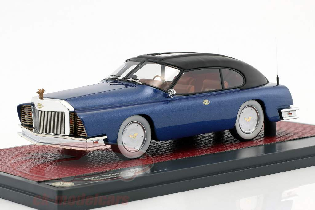 Mohs Ostentatienne Opera Sedan year 1967 blue metallic / black 1:43 Matrix