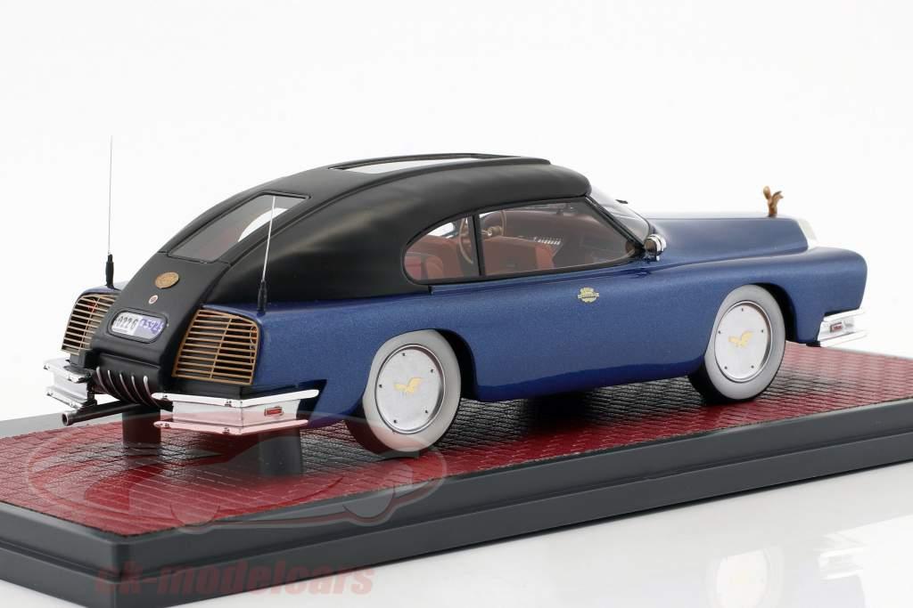 Mohs Ostentatienne Opera Sedan Opførselsår 1967 blå metallisk / sort 1:43 Matrix