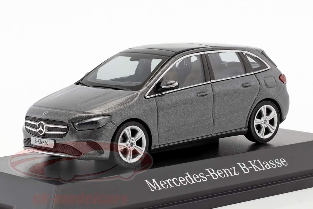 Mercedes-Benz B-Klasse (W247) Baujahr 2018 mountain grau 1:43 Herpa