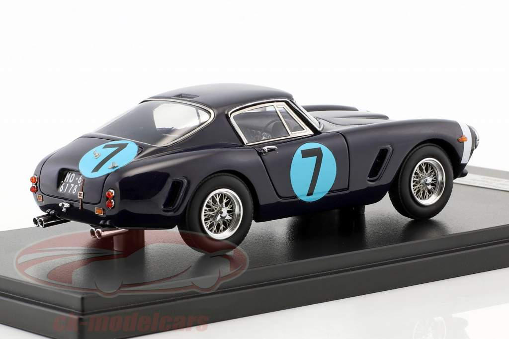 Ferrari 250 GT Passo Corto #7 Vinder RAC Tourist Trophy 1961 Stirling Moss 1:43 Matrix