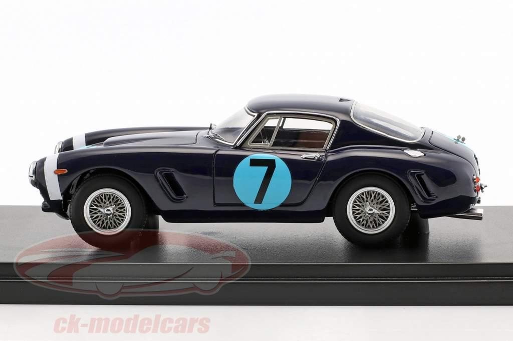 Ferrari 250 GT Passo Corto #7 vencedor RAC Tourist Trophy 1961 Stirling Moss 1:43 Matrix