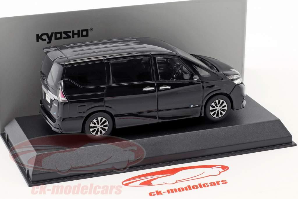 Nissan Serena C27 diamant noir 1:43 Kyosho