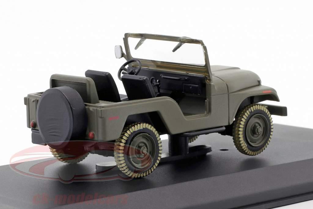 Jeep CJ-5 TV-Serie Das A-Team (1983-87) army grün 1:43 Greenlight