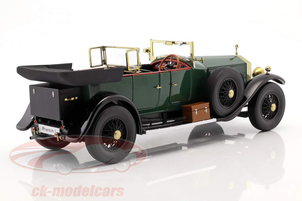 Rolls Royce Phantom I Convertible year 1926 green 1:18 Kyosho
