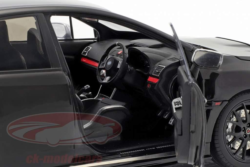 Subaru S207 NBR Challenge Package année de construction 2015 noir 1:18 SunStar