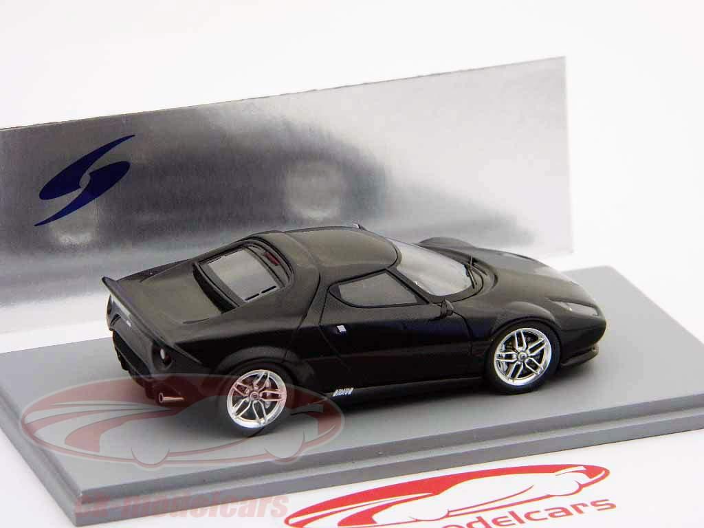 Lancia New Stratos Bj. 2010 preto 1:43 Spark