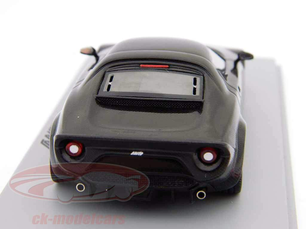 Lancia New Stratos Bj. 2010 sort 1:43 Gnist