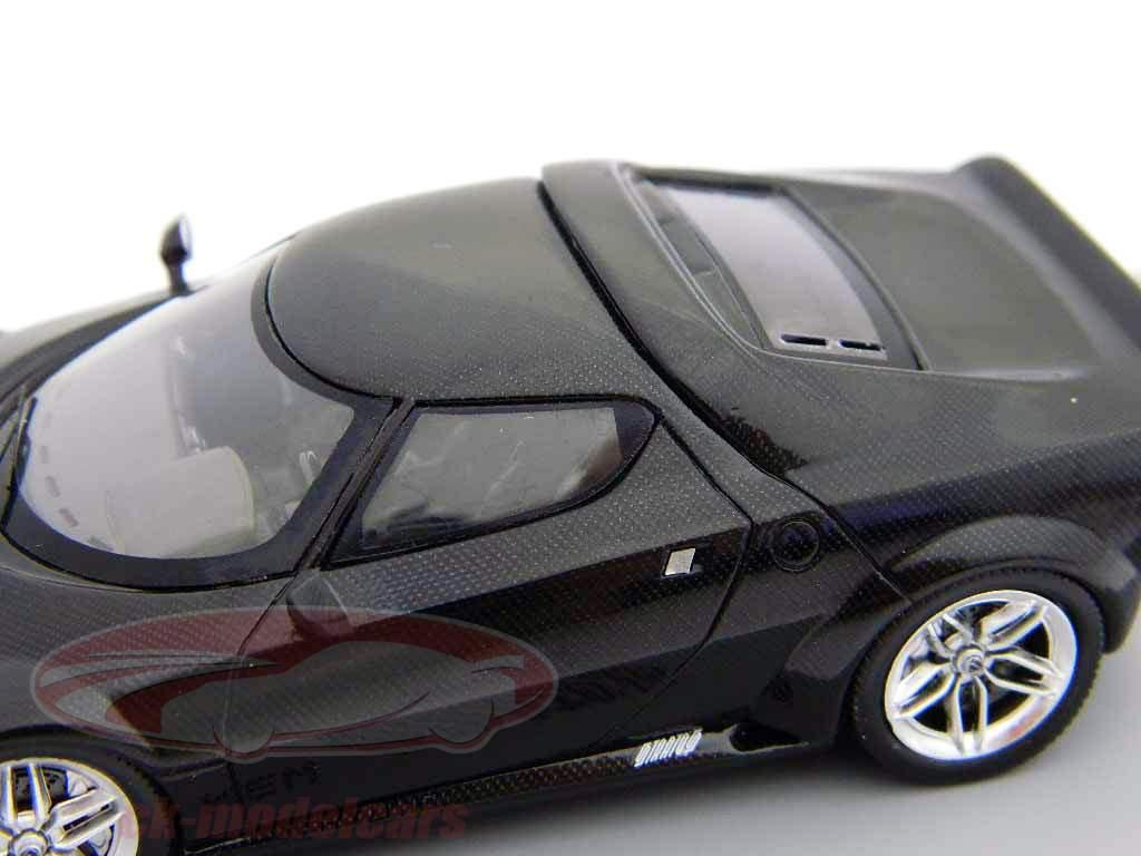 Lancia New Stratos Bj. 2010 schwarz 1:43 Spark