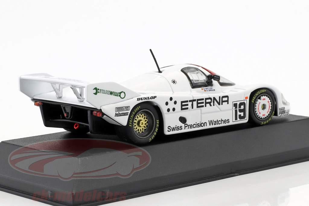 Porsche 956K Brun #19 quinto 1000km Brands Hatch 1984 Bellof, Grohs 1:43 CMR