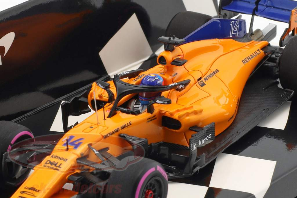 minichamps 1:43 f. alonso mclaren mcl33 #14 300th f1 gp kanada