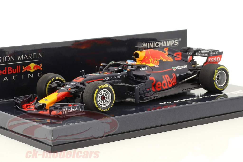 Daniel Ricciardo Red Bull Racing RB14 #3 formel 1 2018 1:43 Minichamps
