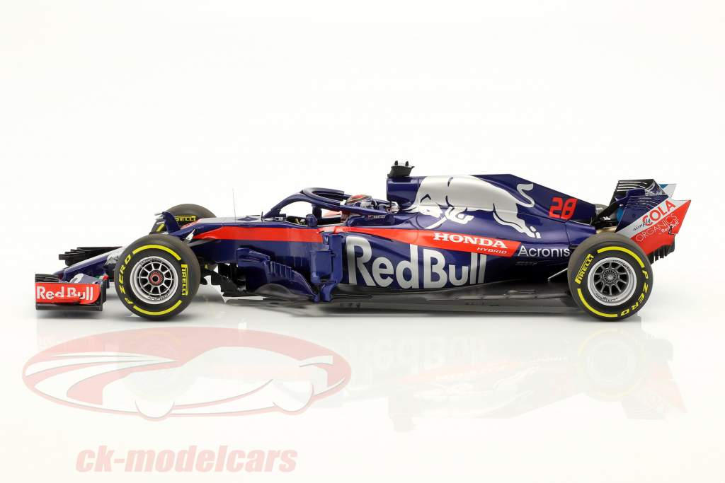 Brendon Hartley Scuderia Toro Rosso STR13 #28 formule 1 2018 1:18 Minichamps