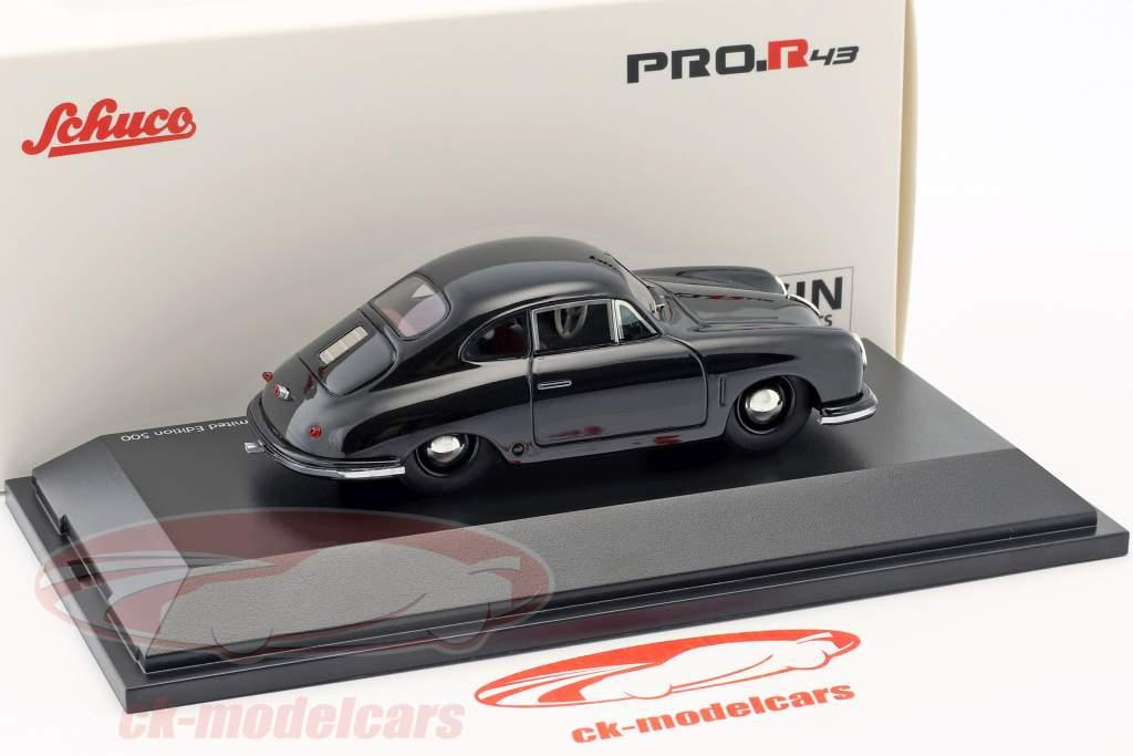 Porsche 356 Gmünd Coupe sort 1:43 Schuco