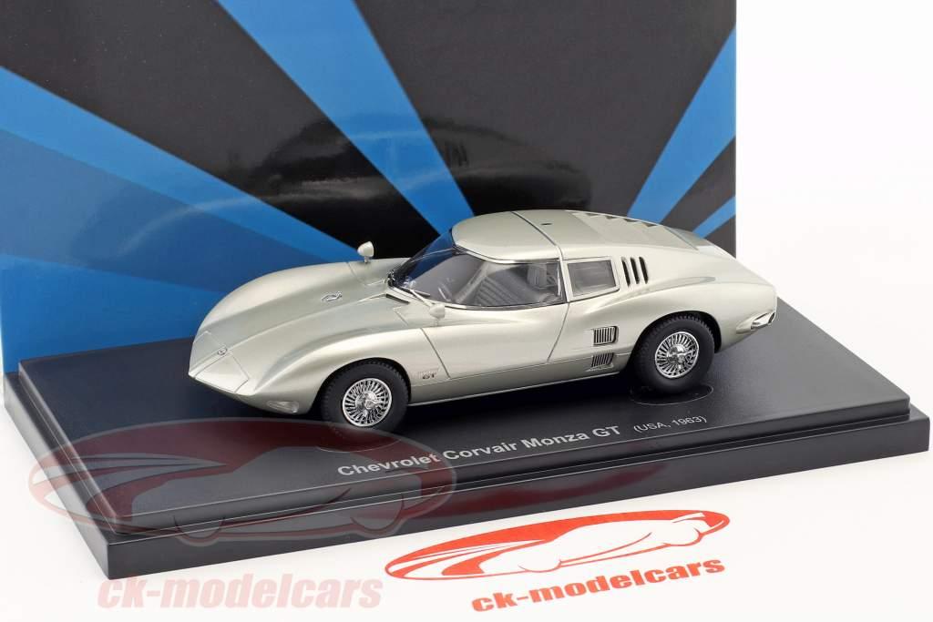 Chevrolet Corvair Monza GT année de construction 1963 argent 1:43 AutoCult