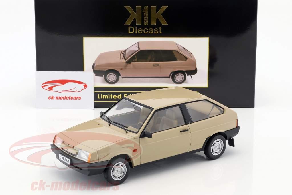 Lada Samara Bouwjaar 1984 bruinen 1:18 KK-Scale
