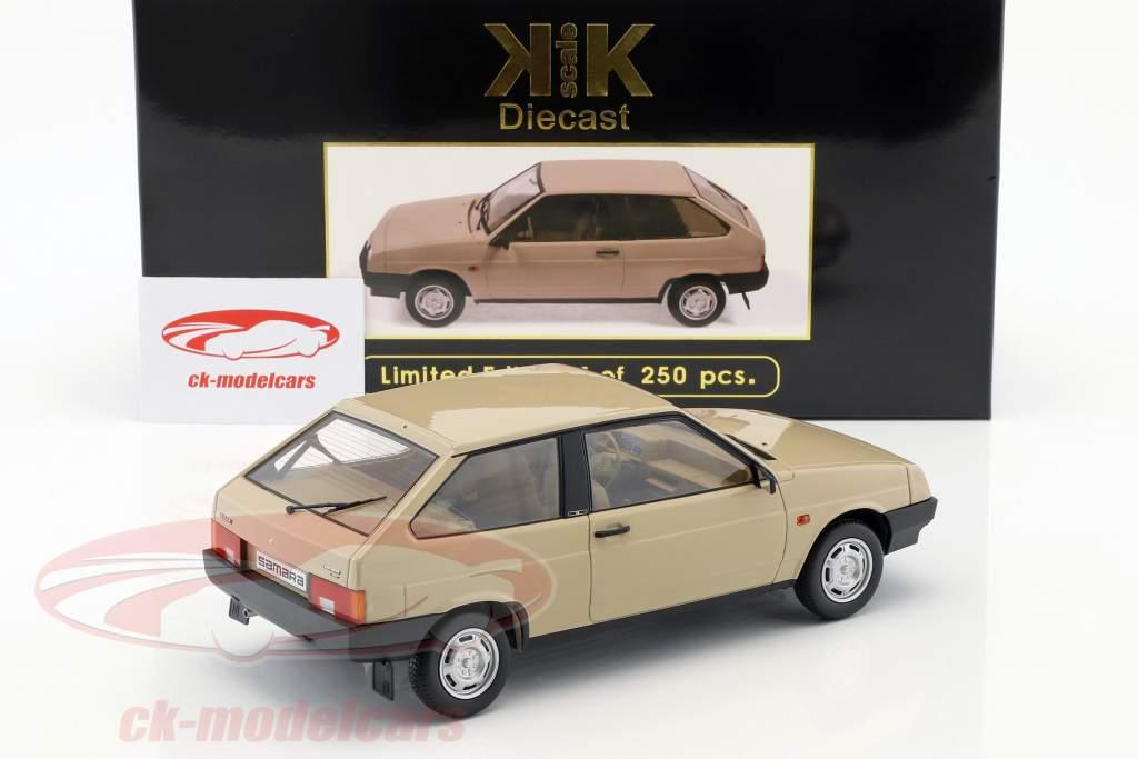 Lada Samara ano de construção 1984 bronzeado 1:18 KK-Scale