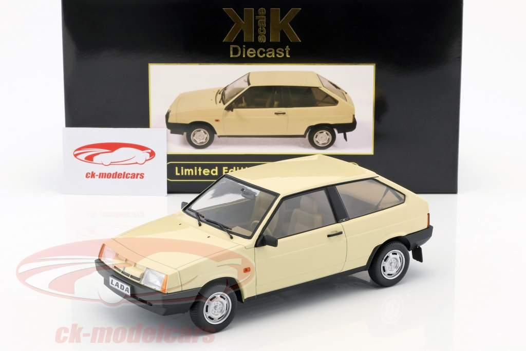 Lada Samara Opførselsår 1984 beige 1:18 KK-Scale