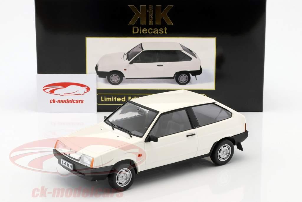 Lada Samara année de construction 1984 blanc 1:18 KK-Scale