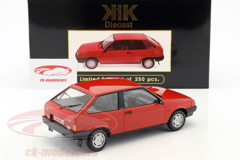 Lada Samara Opførselsår 1984 rød 1:18 KK-Scale