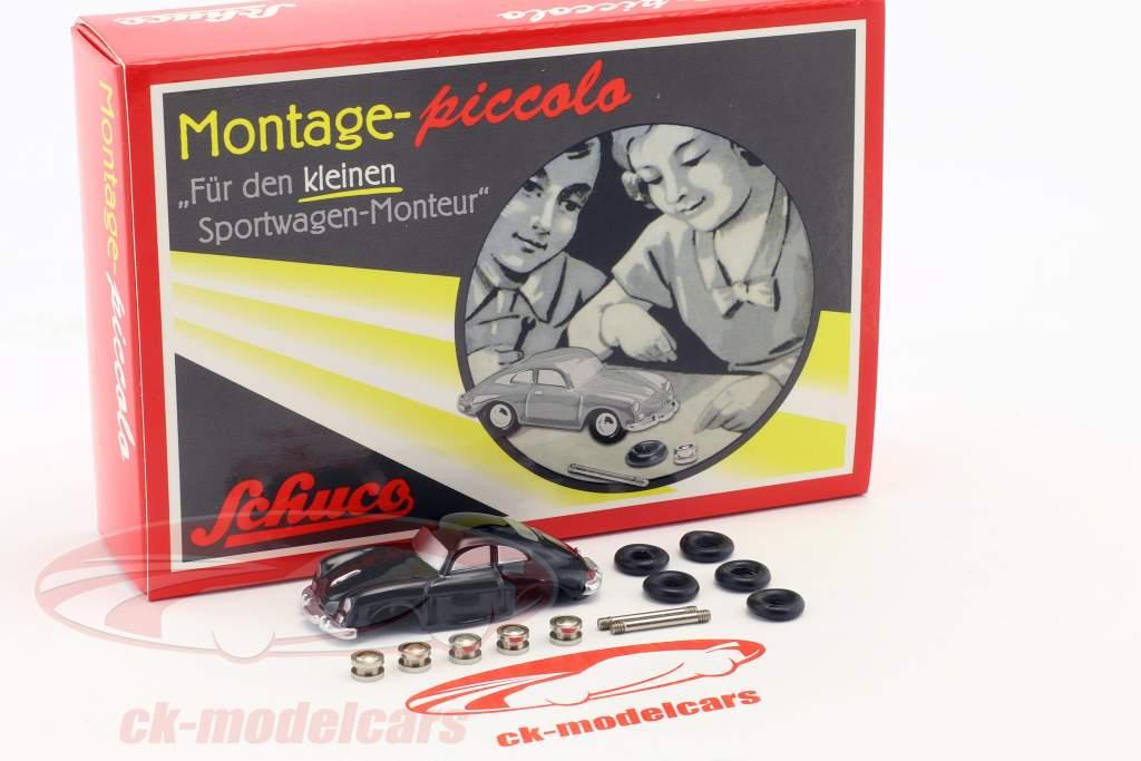 Porsche 356 Coupe construção estojo para o pequeno mecânico de automóveis Sports 1:90 Schuco Piccolo