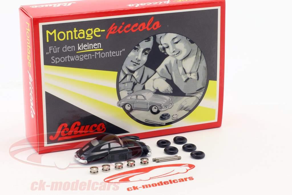 Porsche 356 Coupe Montagekasten für den kleinen Sportwagen-Monteur 1:90 Schuco Piccolo