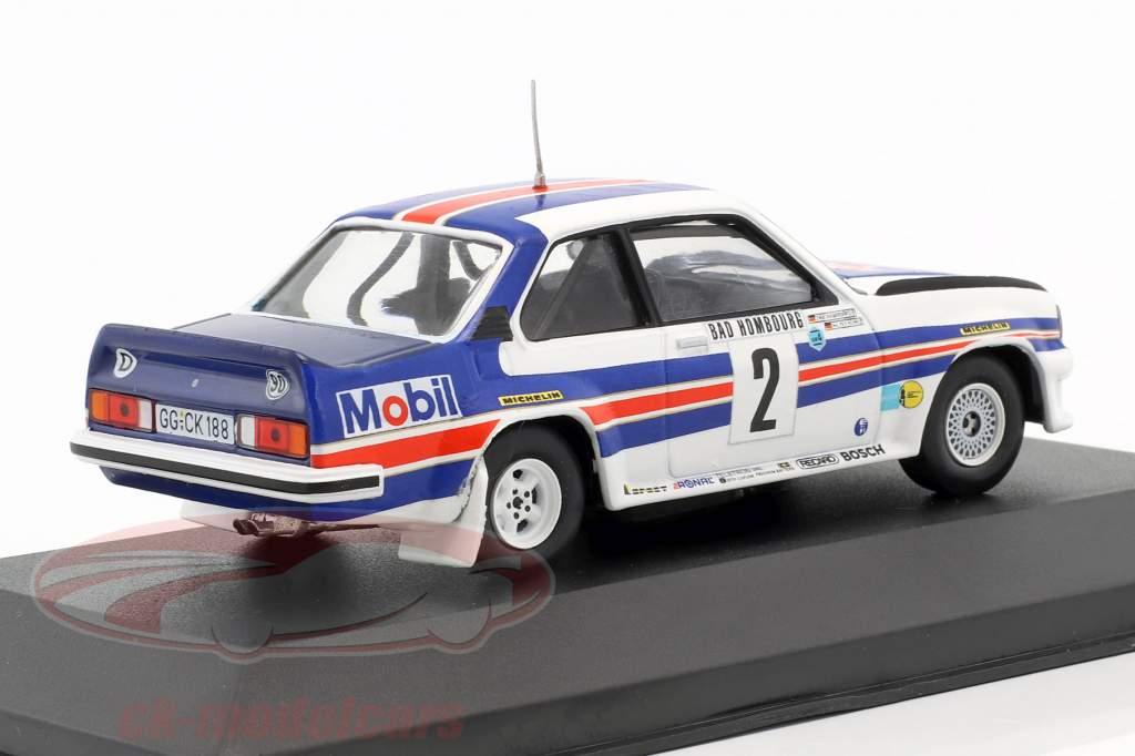 Opel Ascona 400 #2 winnaar Rallye Monte Carlo 1982 Röhrl, Geistdörfer 1:43 CMR