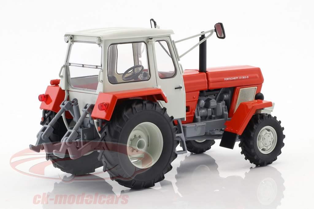 Fortschritt ZT 303 Traktor rot / weiß 1:32 Schuco