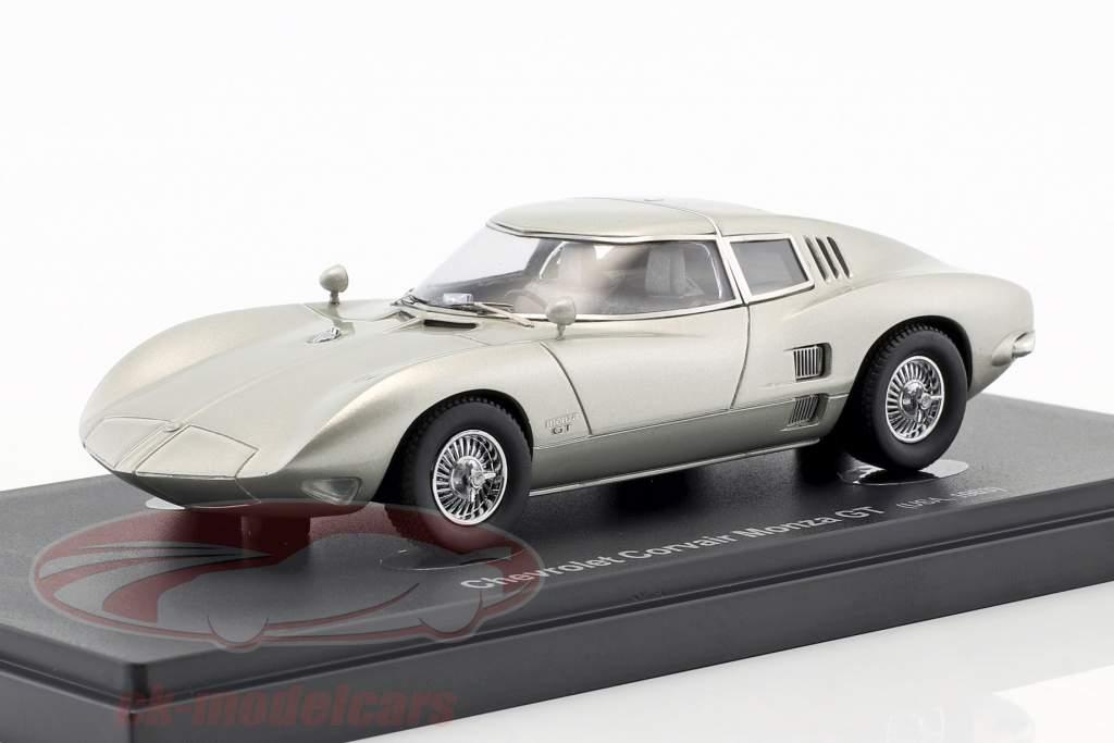 Chevrolet Corvair Monza GT Opførselsår 1963 sølv 1:43 AutoCult
