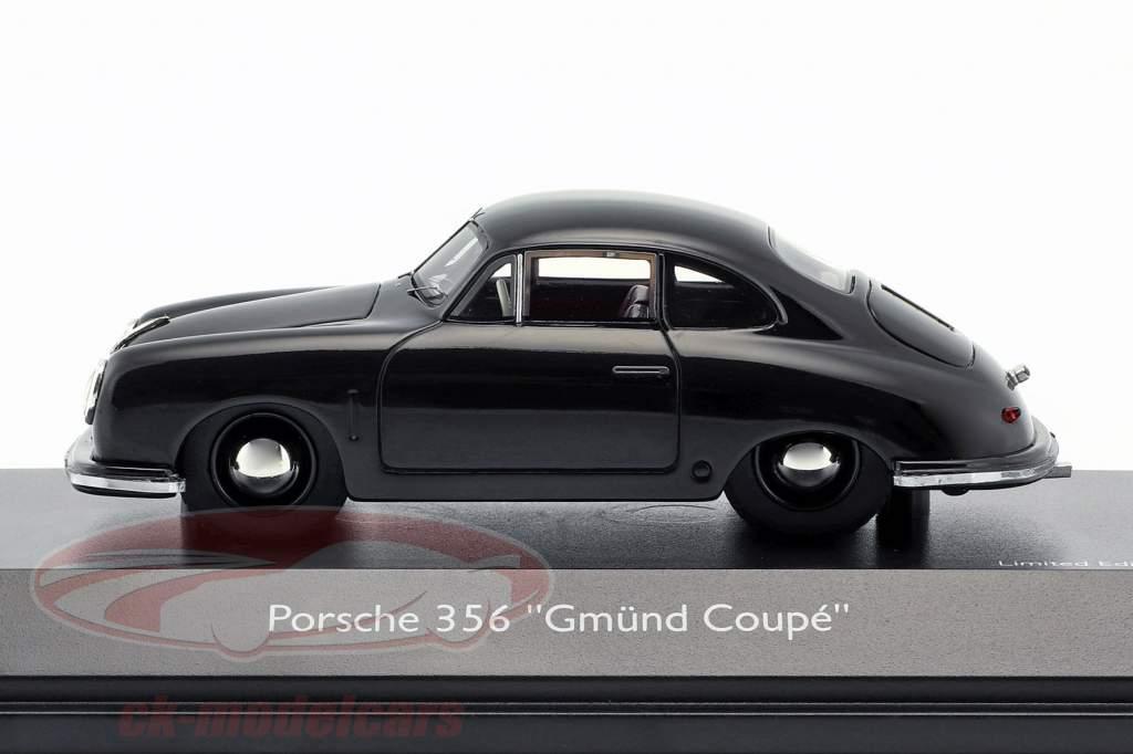 Porsche 356 Gmünd Coupe nero 1:43 Schuco