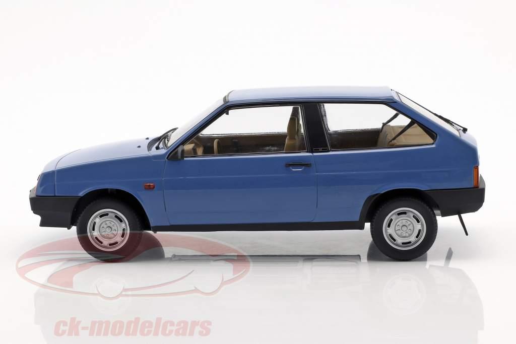 Lada Samara ano de construção 1984 azul 1:18 KK-Scale
