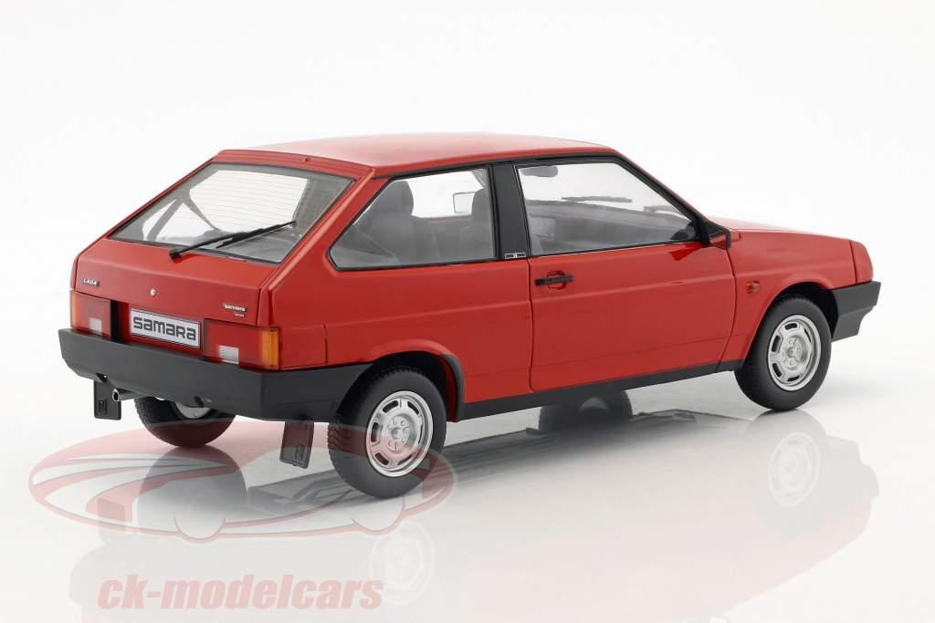 Lada Samara Baujahr 1984 rot 1:18 KK-Scale