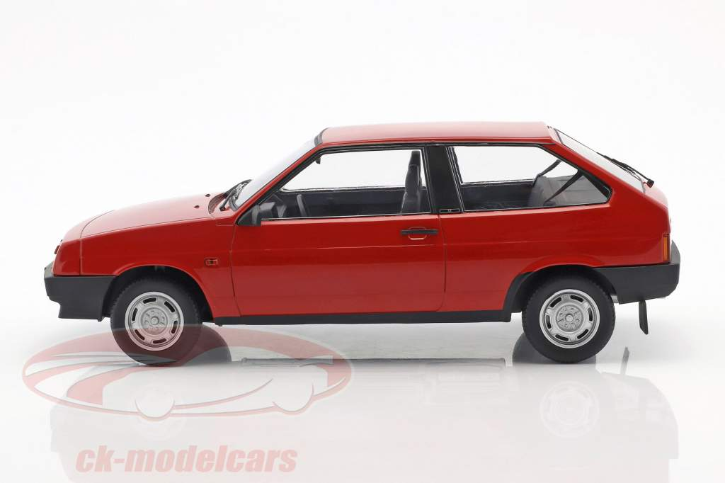 Lada Samara year 1984 red 1:18 KK-Scale