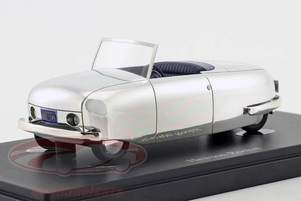 Hewson Rocket Bouwjaar 1946 zilver 1:43 AutoCult