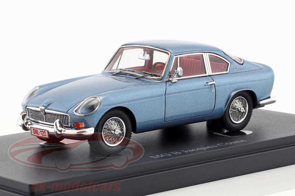 MG B Jacques Coune Opførselsår 1964 blå metallisk 1:43 AutoCult