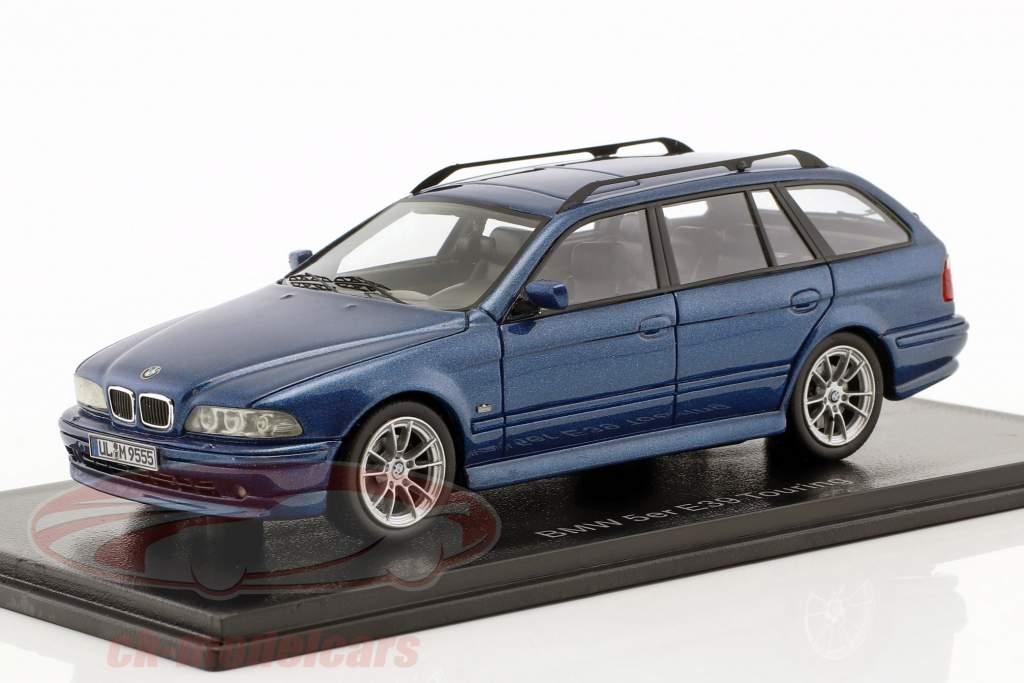 BMW 520 Touring (E39) Baujahr 2002 blau metallic 1:43 Neo