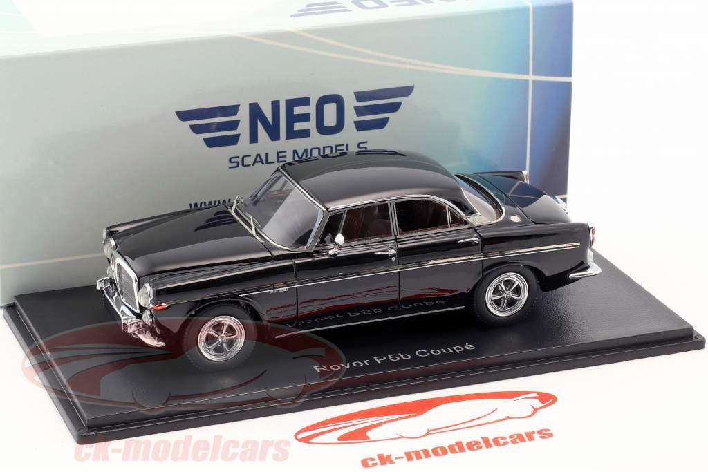 Rover P5B coupé RHD année de construction 1971 noir 1:43 Neo