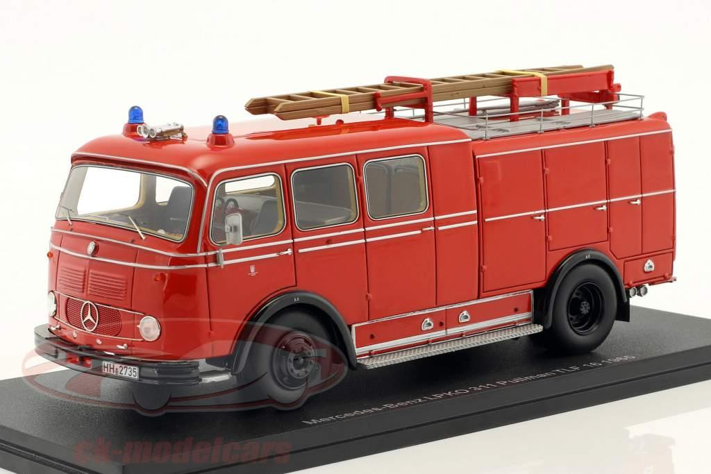 Mercedes-Benz LPKO 311 Pullman TLF 16 Feuerwehr rot 1:43 Neo