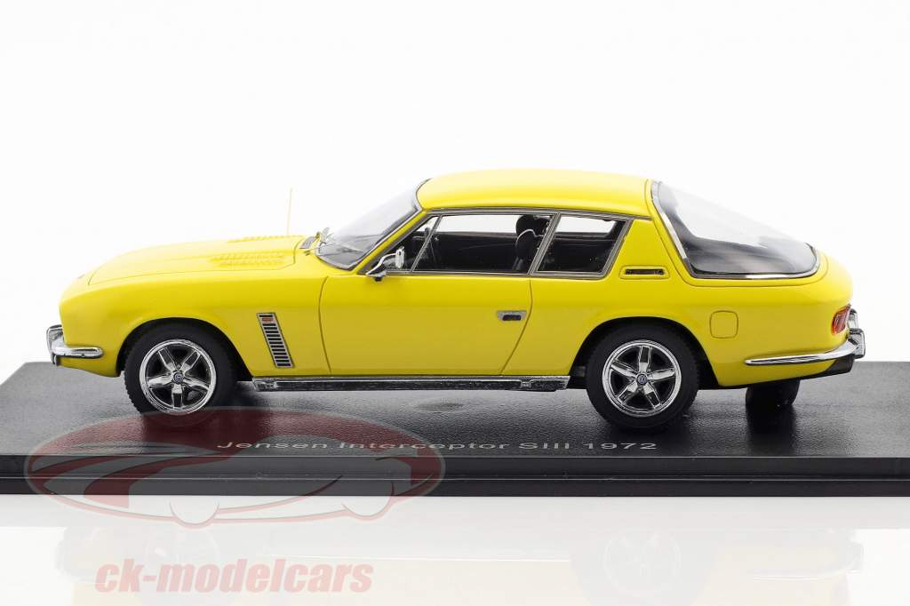 Jensen Interceptor SIII year 1972 yellow 1:43 Neo