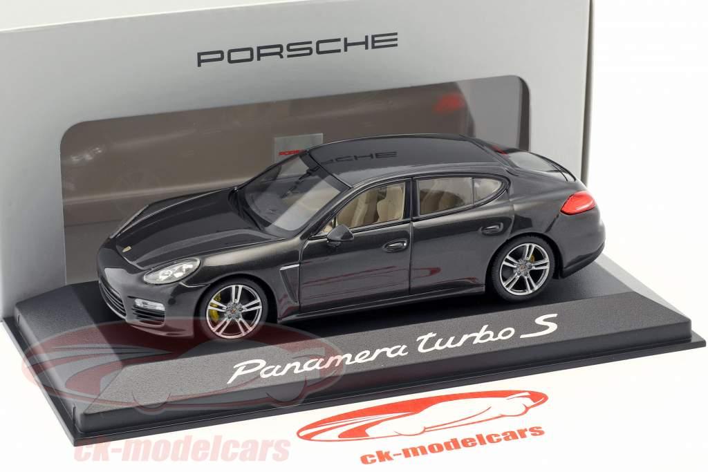 Porsche Panamera Turbo Gen. II Opførselsår 2014 carboxylsyre grå 1:43 Minichamps