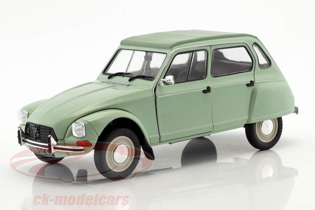 Citroen Dyane 6 year 1967 jade green 1:18 Solido