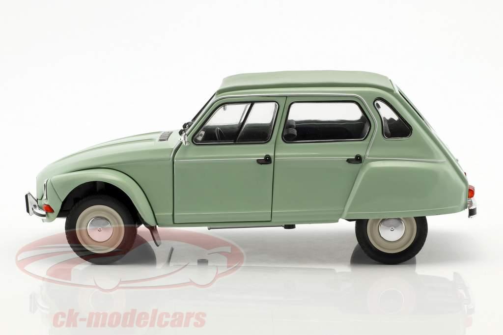 Citroen Dyane 6 Baujahr 1967 jade grün 1:18 Solido