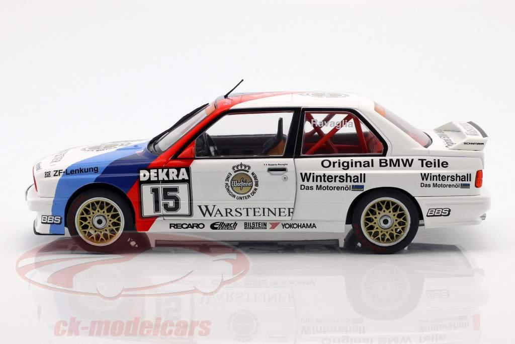 BMW M3 (E30) #15 DTM Champion 1989 Roberto Ravaglia 1:18 Solido