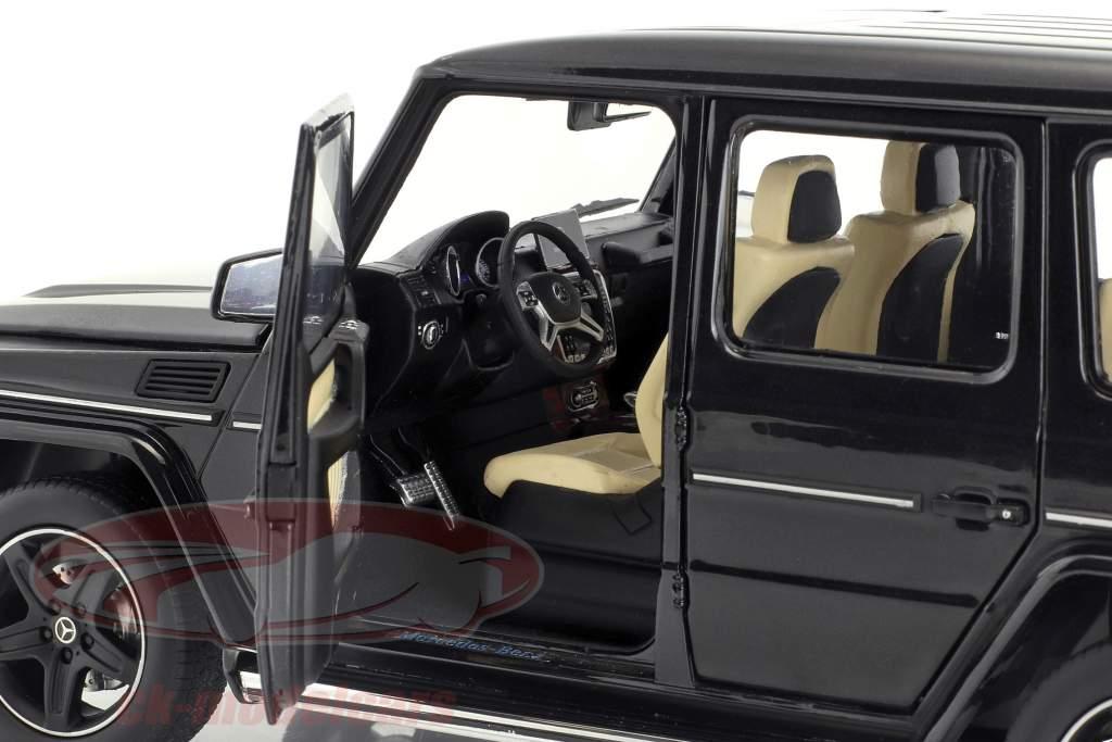 Mercedes-Benz G-Klasse (W463) Baujahr 2015 obsidian schwarz 1:18 iScale