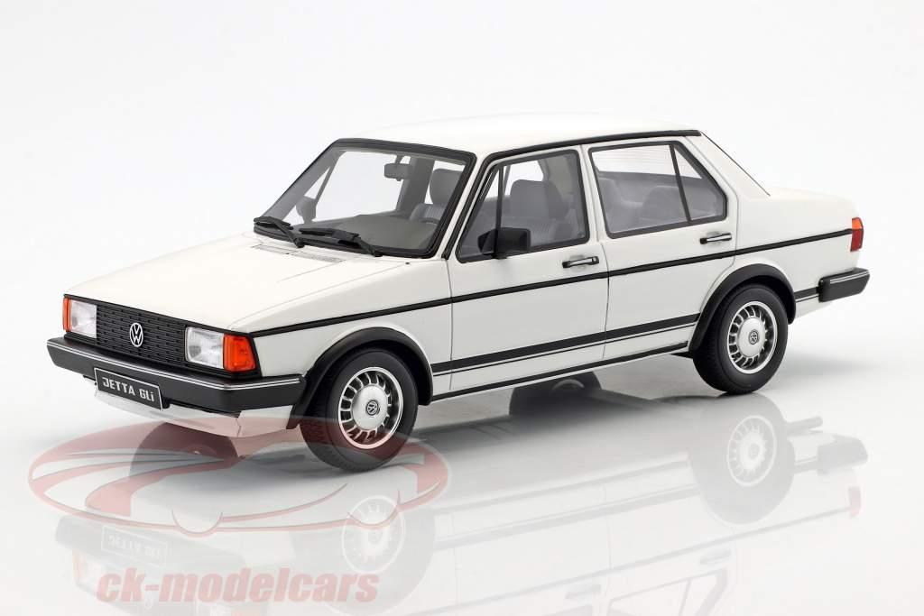 Volkswagen VW Jetta MK1 GLI year 1983 alpine white 1:18 OttOmobile